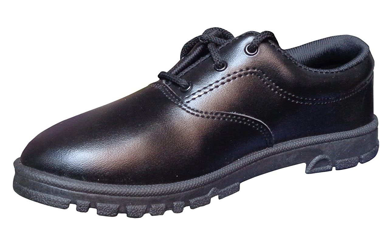 WELCOME Lace Up Black_8 School Shoes