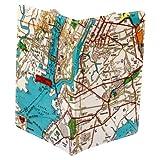 NYC Map Travel Passport Holder