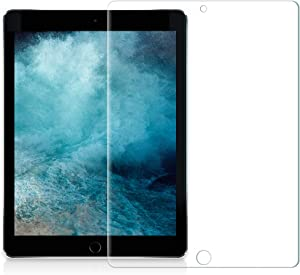 Grifobes iPad 6th Generation Screen Protector - Anti-Scratches, Tempered Glass, Bubble-Free, Compatible with iPad 5th Generation/iPad Air 2 / iPad Pro 9.7 / for Apple iPad 9.7 inch [2 Pack]