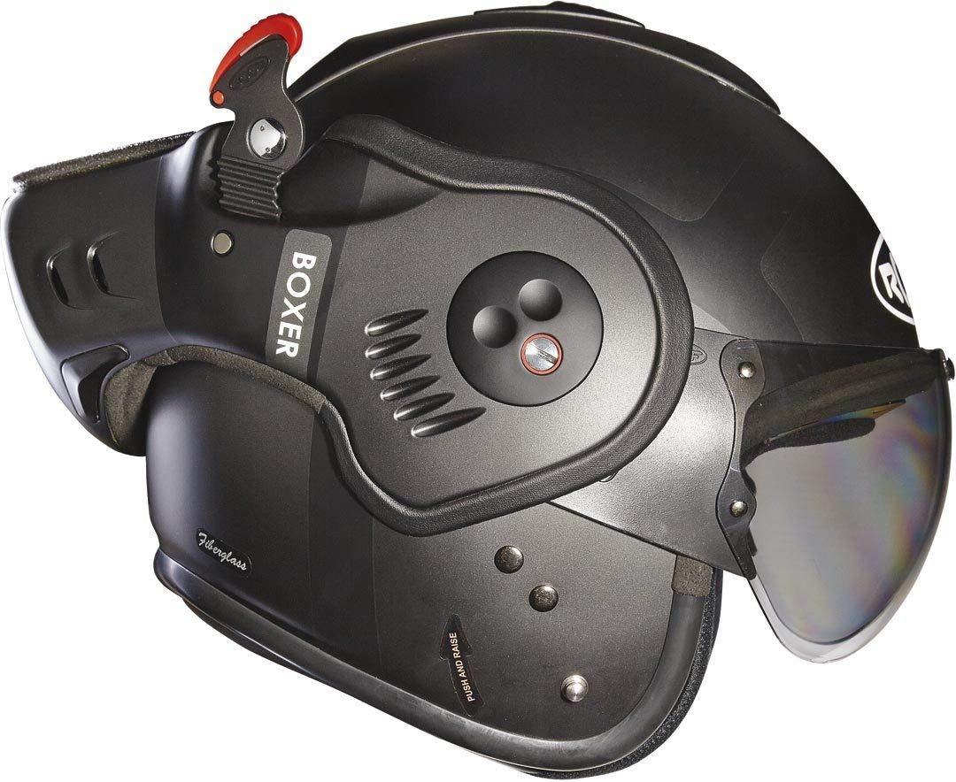 Roof Dach Helm Boxer V8 Bond matt orange Gr/ö/ße XL