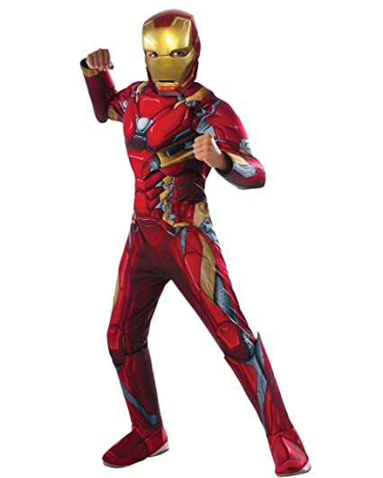 Horror-Shop traje de Iron Man muscular S: Amazon.es ...