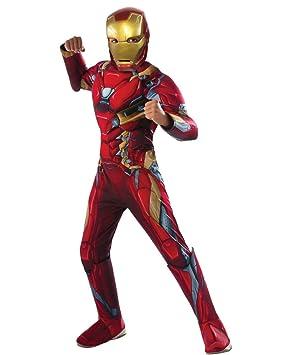 Horror-Shop traje de Iron Man muscular L: Amazon.es ...
