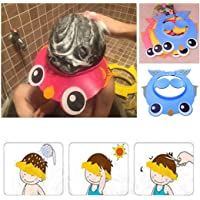 OYTRO New Cute Safe Shampoo Shower Bathing Protect Soft Cap Hat for Baby Children Kids Bubble Bath