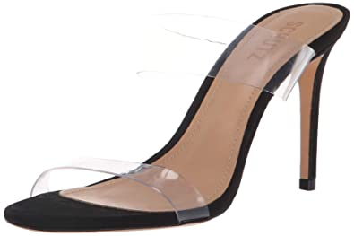 25bcd7d658a Amazon.com  SCHUTZ Women s Ariella Heeled Sandal Transparent  Shoes