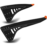 """NICEDACK Bike Fender MTB Mud Guard, Front and Rear Bicycle Mudguard Set, Downhill Mountain Bicycle Fenders Fits 20"""" 26…"""