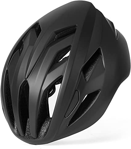 Amazon Com Base Camp Ace Ii Road Bike Helmet For Adult Cycling Adjustable M L Size 22 To 24 5 Inches Sports Outdoors