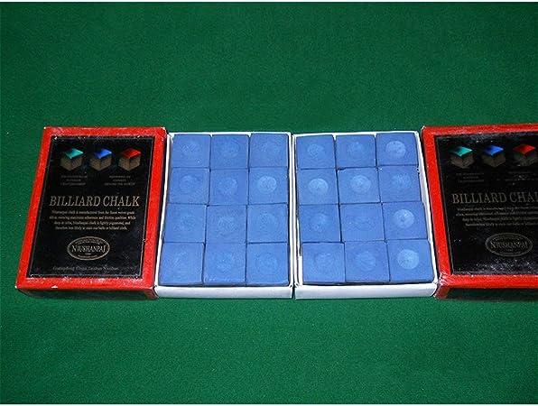 WXS Caja de 12 Cubos de Tacos de Billar/Billar Accesorios de ...