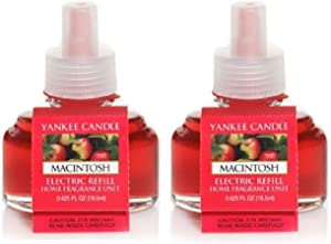 Yankee Candle Macintosh Electric Fragrance Unit Refills
