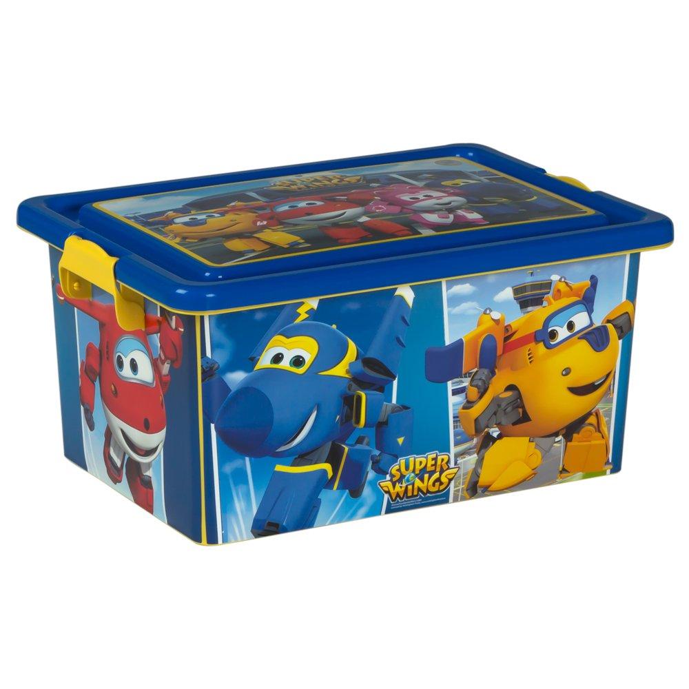 Super Wings Box Organiser (colorbaby) 38 x 27 x 18 cm 76795
