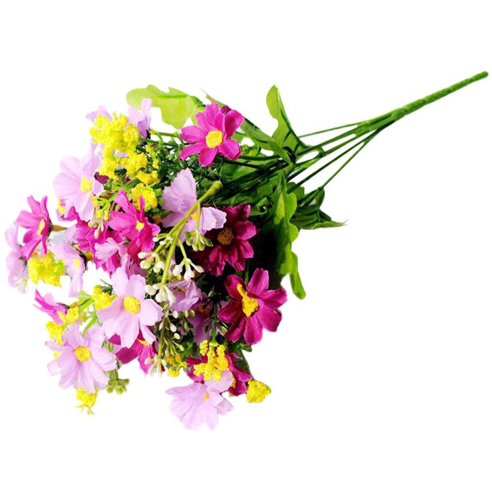 Qiao Nai Tm Kunstliche Gerbera Blumen Kopfe Ganseblumchen Mit 28