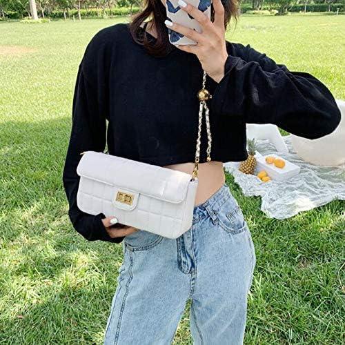 La Signora Messenger Bag Piccolo Sacchetto di Moda Selvaggia Piccola Piazza Pacchetto Yellow Black