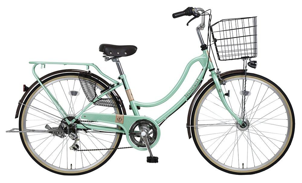 ファッションサイクル外装6段LEDオートライトフロートミックス B079L3XPTT ライトグリーン ライトグリーン