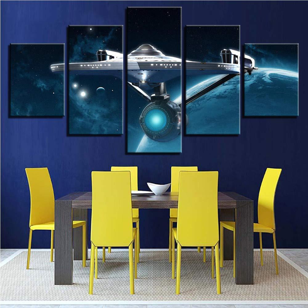Meaosy Wandkunst Hd Druckt Bild Home Decoration Star Trek 5 Stücke Film Leinwand Malerei Für Wohnzimmer Modularen Bilder Kunstwerk Poster-20X35 45 55Cm