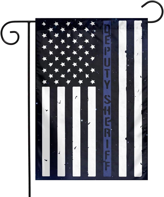 Rajanaz Deputy Sheriff US Flag Garden Yard Flag 12