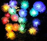 40 LED Pinecone String lights Great for Christmas Garden Patio Party Decor (Multi-color), LED028C