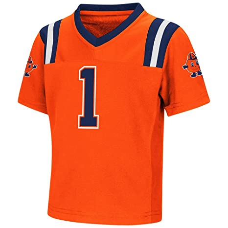 new products 7528b cb196 Colosseum Toddler Syracuse Orange Football Jersey