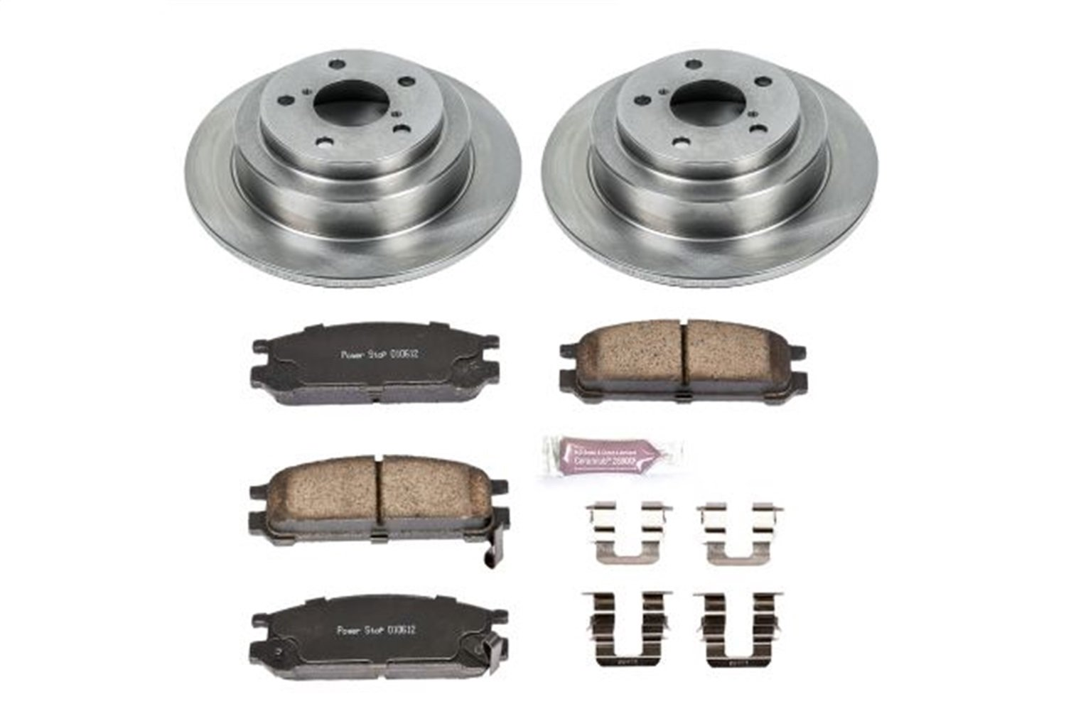 Autospecialty KOE448 1-Click OE Replacement Brake Kit
