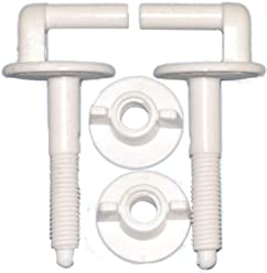 tuercas de fijaci/ón asientos de inodoro de ba/ño para adaptarse a la mayor/ía de reparaci/ón 2 tornillos de inodoro A3