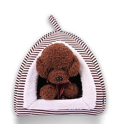 Gato caseta cama gato cómodo perro casa cachorro invierno interior cálido pequeño animal arena cojín accesorios