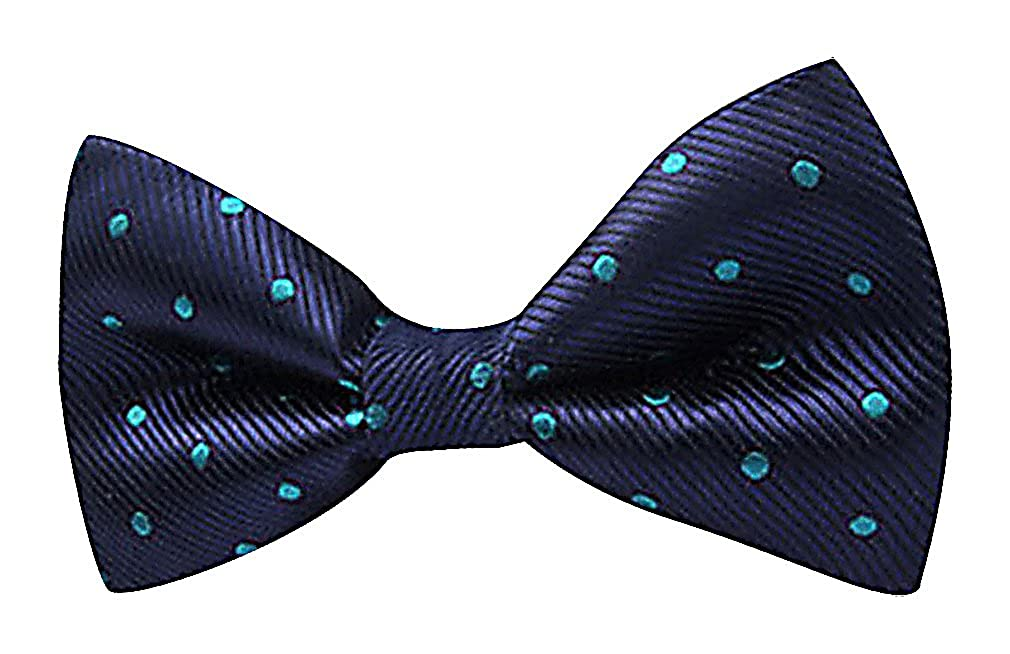 Celino Men Polyester Elegant Modern Colorful Dots Pattern Butterfly Bow Ties