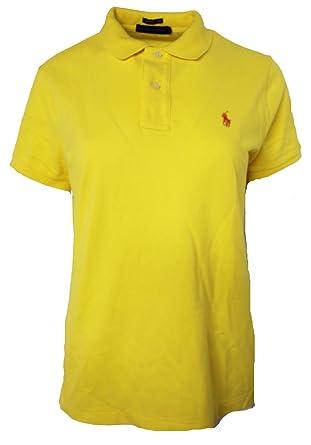 Polo Ralph Lauren - Camiseta - Manga Corta - para Mujer Amarillo ...