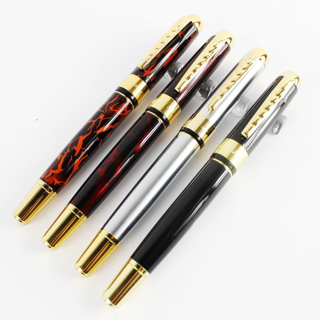 4Pcs Writing instrument Fountain Pen in 4 Colors Perfect ...