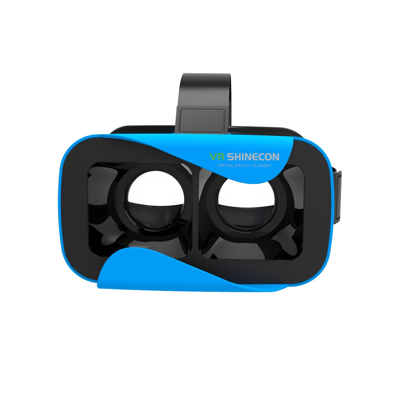 3b07b35fbedb VR SHINECON VR Headset Virtual Reality 3D Glasses for Movies Video Games  Compatible with IOS Android Microsoft Smartphone within 4.7 - 6.0 inches  (Blue)