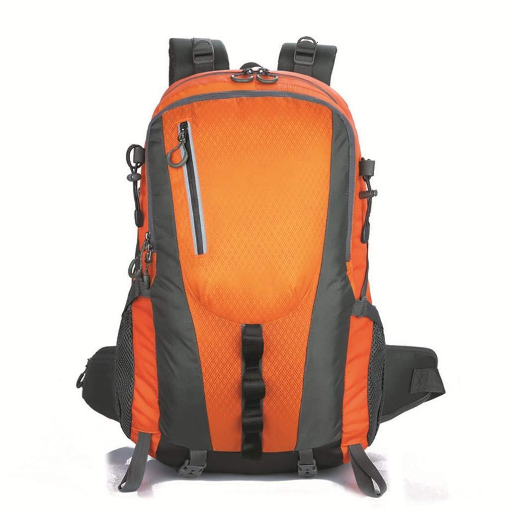 登山バッグ40L屋外バックパック防水軽量ハイキングバックパック(湖ブルー) (色 : B)  B B07H1FBC1G