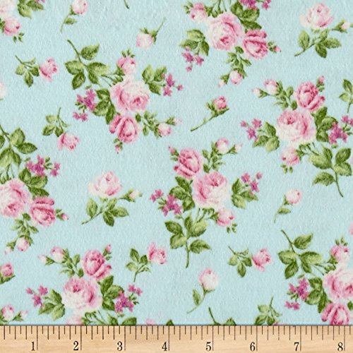 Afternoon In The Attic Flannel Heirloom Floral Sweet Pea Fabric By The (Attic Fabric)