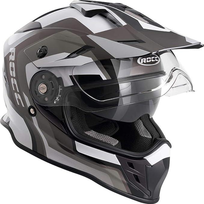 Rocc 781 Motocross Helmet L Black Grey Auto