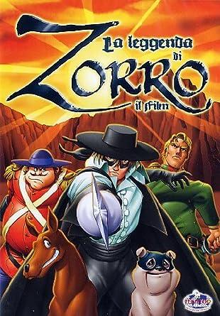 La leggenda di zorro il film: amazon.co.uk: minoguti: dvd & blu ray