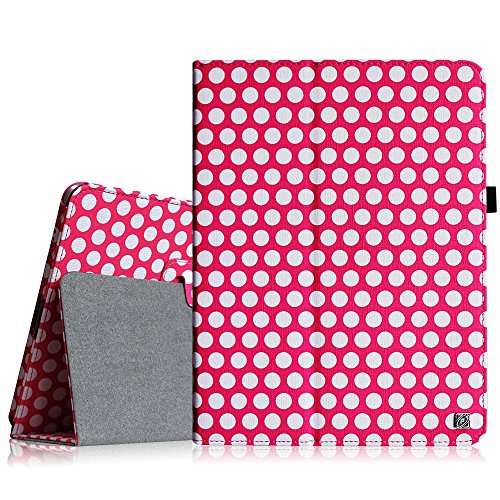 Fintie iPad 1 Folio Case - Slim Fit Vegan Leather Stand Cove