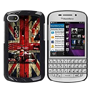 Impact Case Cover with Art Pattern Designs FOR BlackBerry Q10 UK British F1 Formula Betty shop