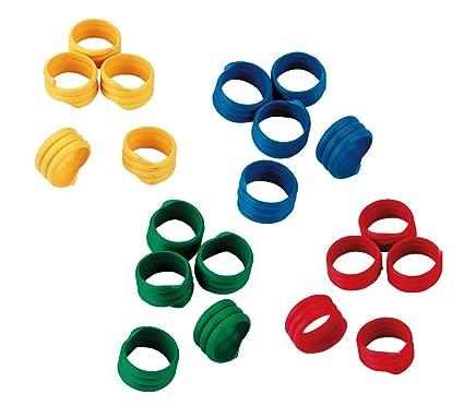 Kerbl Spiralring, farblich gemischt