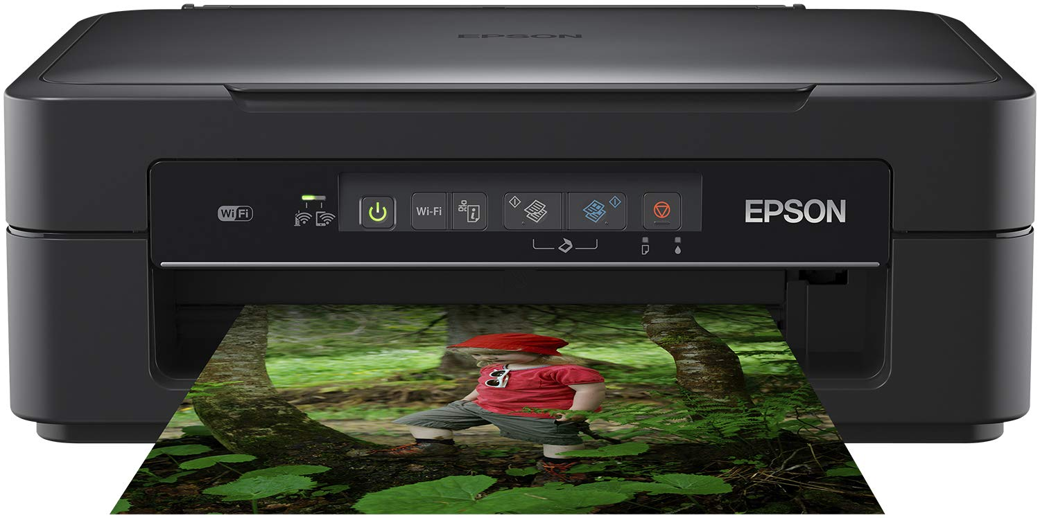 Epson Expression Home XP 255 Multifunzione Compatto con Wi-Fi, Nero C11CH17403