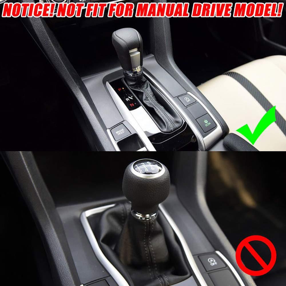 Kadore ABS Carbon Fiber Style Interior Gear Shift Knob Protector ...