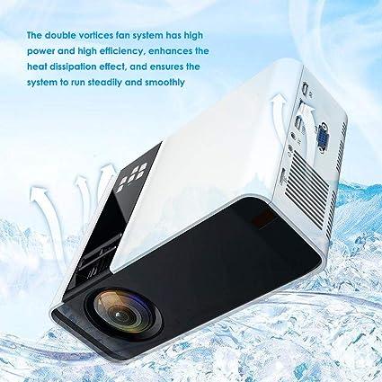 Sorand Proyector, Mini 4K HD 1080P LED Smart Video Projector 4000 ...
