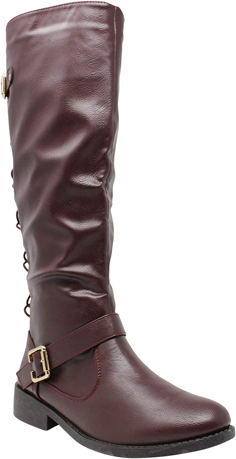 womens boots lace up back