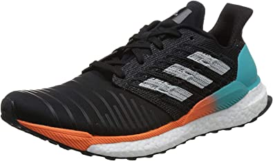 adidas Solar Boost M, Zapatillas de Running para Hombre, Negro (Core Black/Grey Two F17/Hi-Res Aqua), 41 1/3 EU: Amazon.es: Zapatos y complementos