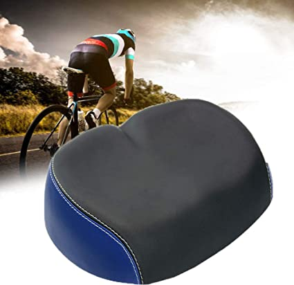 Comfort Breathable Bike Saddle Bicycle Cycling Seat Men Women Wide Cushion Pad