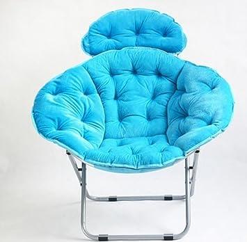sillón reclinable Lazy diván silla plegable portátil silla ...
