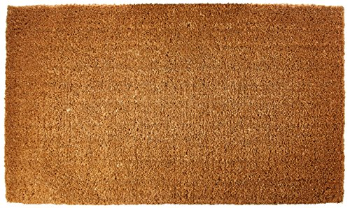 Kempf Natural Coco Coir Doormat Low Clearance 1″ Thick
