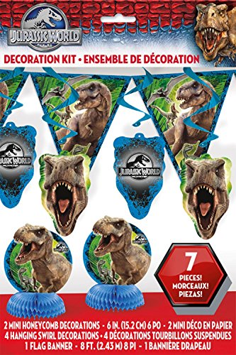 Jurassic World Party Decorating Kit, 7pc]()