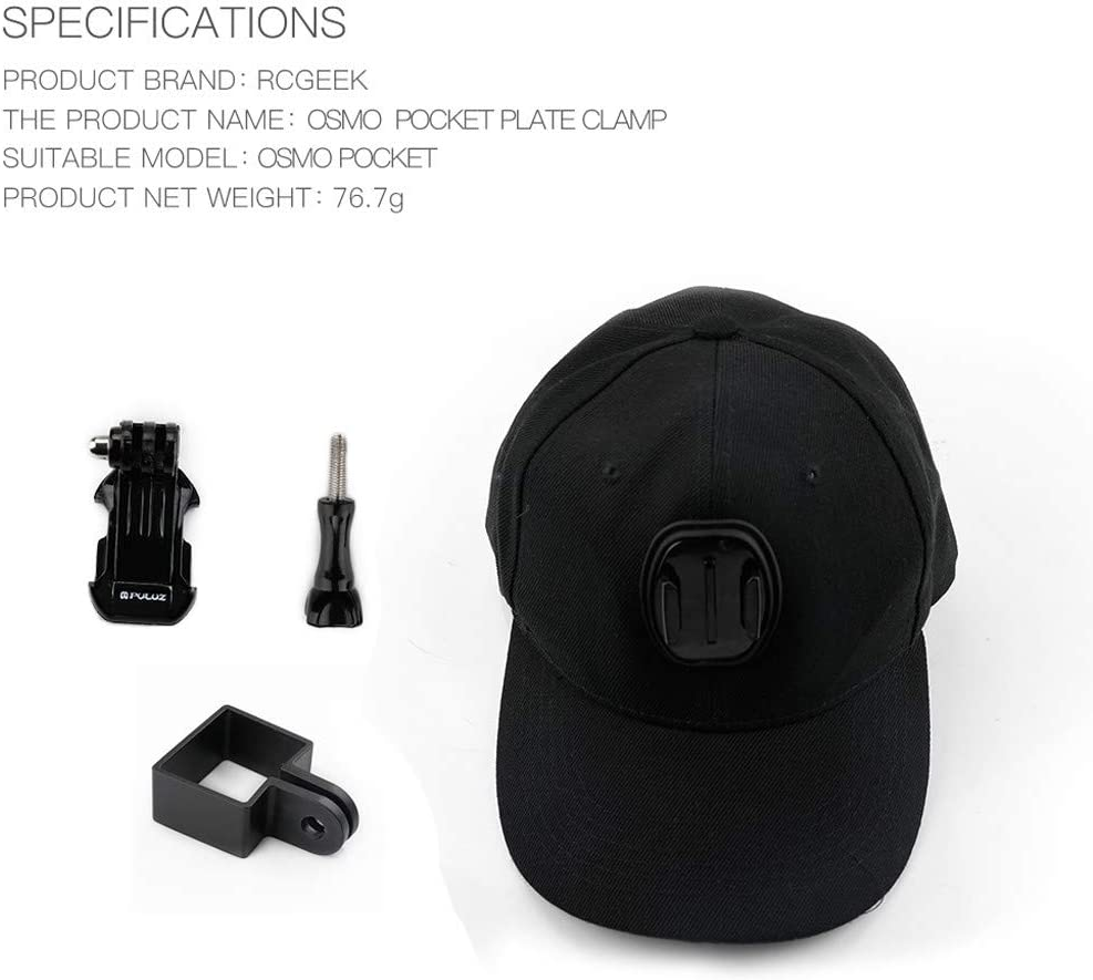 Belloc 2019 Hat Camera Mount For DJI OSMO POCKET Adjustable Comfortable Head Band Soft bands with good elasticity