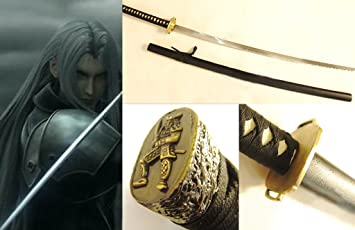 Dream2reality Cosplay Final Fantasy 7 Sephiroth Masamune Replica Sword T10 Clay Tempered High Carbon Steel Full Handmade Full Tang Katana