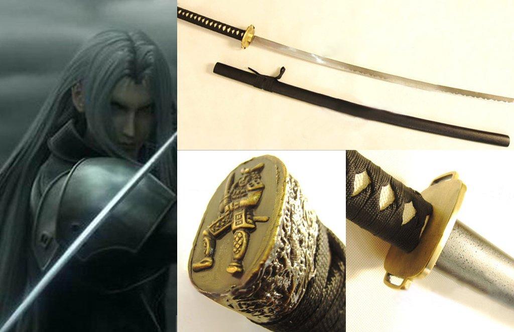 Masamune Katana di Sephiroth Final Fantasy VII Cosplay Sword