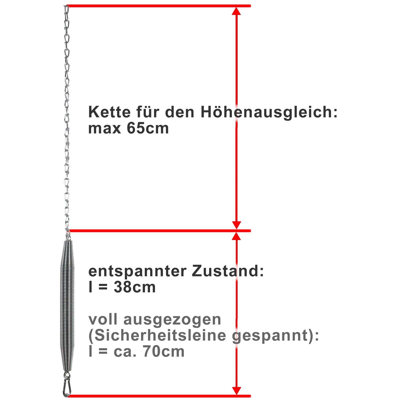 Schwarz Umfang S O-motion professional Kompressions-Kniestr/ümpfe ohne Fu/ß