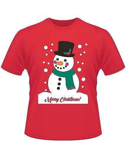 Limeinimukete Camiseta de Manga Corta de Navidad para Mujer Camisetas con Cuello Redondo de Dibujos Animados