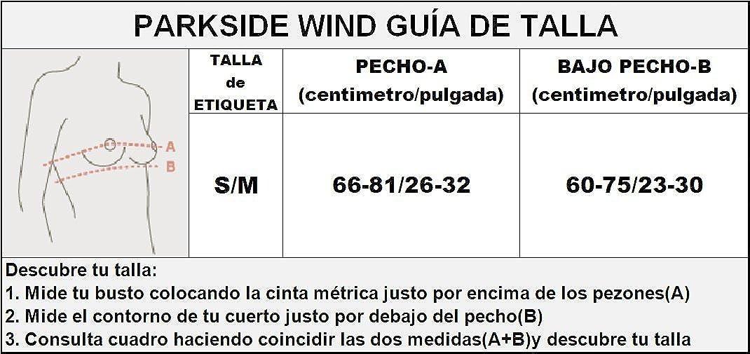 PSW Sujetador Deportivo de Rejilla Medio Impacto con Relleno para Mujer (Negro): Amazon.es: Ropa y accesorios