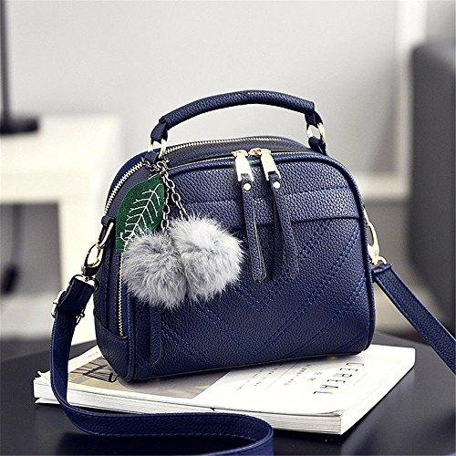à Mode Sac Bandoulière bleu Sac Main à MSZYZ Nouveau Unique qpafgg